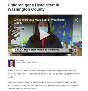 Screenshot of WNYT article and video