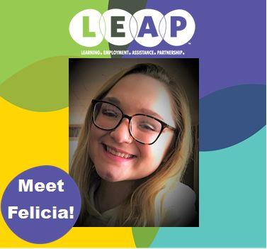LEAP Staff Member Felicia Wells